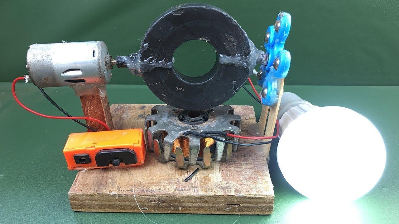 100 Real Free Energy Generator Fan Motor Using Dc Motor