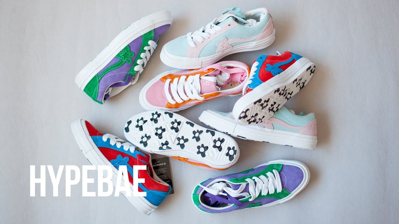 Tyler The Creator S Two Tone Converse Golf Le Fleur One Stars