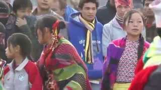 Kirat - First People of Nepal celebrating harvest festival Sakela |video credit shyam magar|