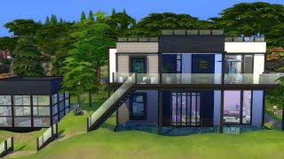 The Sims 4: Speed Build // MODERN HOME // NO CC + DAYS 3&4 WINNERS!