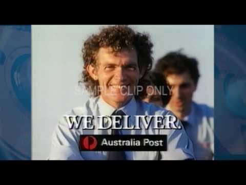 AUSTRALIA POST IMAGE CAMPAIGN  (1988)
