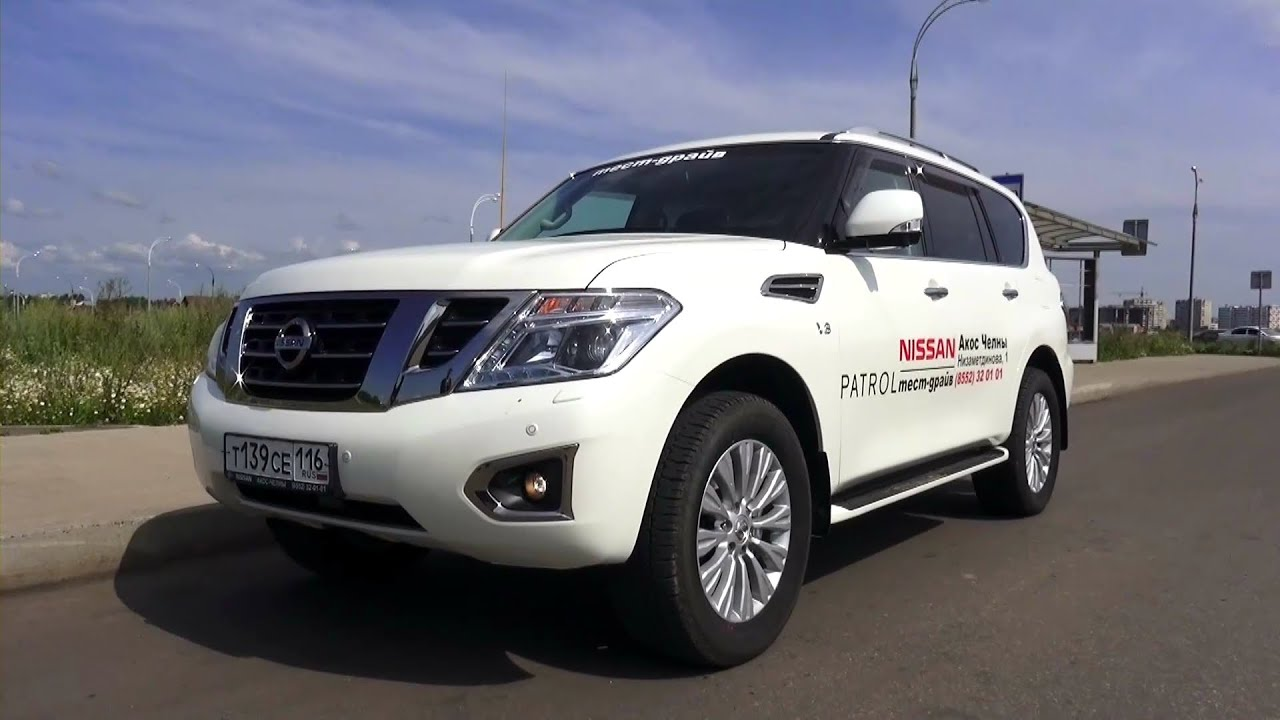 2014 Nissan Patrol Top Test Drive Youtube