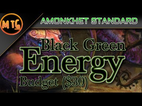 Black Green Energy in Amonkhet Standard! Budget Deck Tech ($30)!