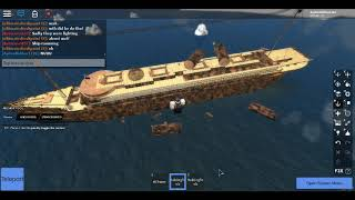 Sinking and Wreck of RMS Titan II | Roblox TSS