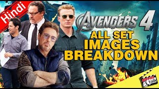 Avengers 4 All Set Images & Captain America Death Breakdown [Explained In Hindi]