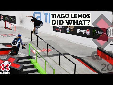 TIAGO LEMOS DID WHAT? | X Games 2021