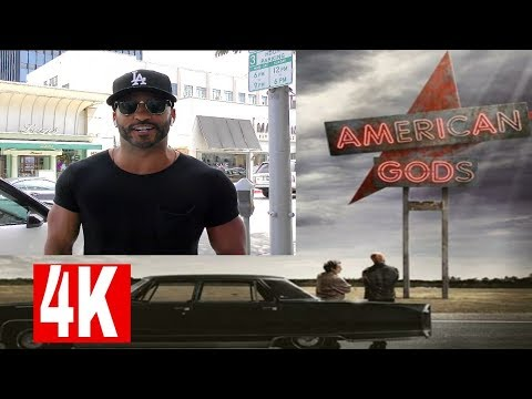 Ricky Whittle talks American Gods Season 2 & World Cup thoughts?  Subscribe