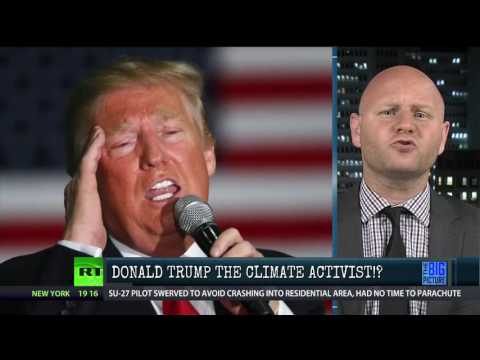 The Climate Change Scam Trump Is Running...