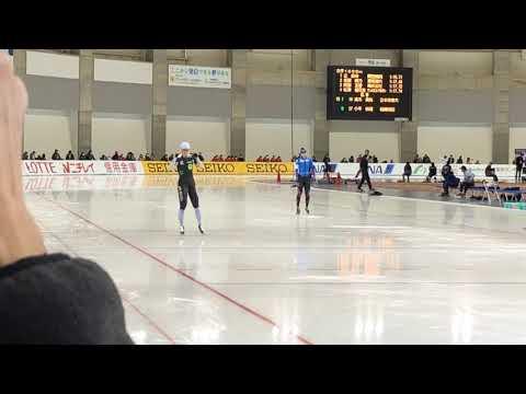 全日本SSスケート2日目 1000m 高木美帆(内)vs小平奈緒(外)