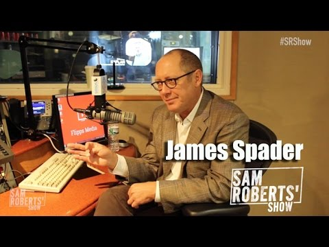 James Spader Interview- Blacklist, Ultron, The Office, Going Broke, etc - #SRShow
