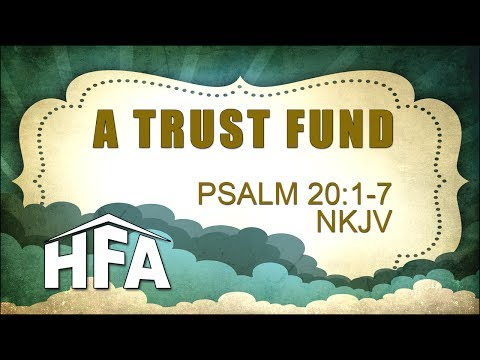 A Trust Fund - January 26, 2014