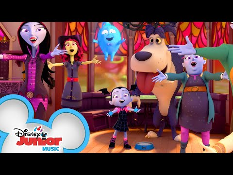 A Monster Always Lends a Helping Claw Music Video 👾| Vampirina | Disney Junior