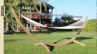 La Siesta Barco - Wooden Hammock Stand For Family Hammocks