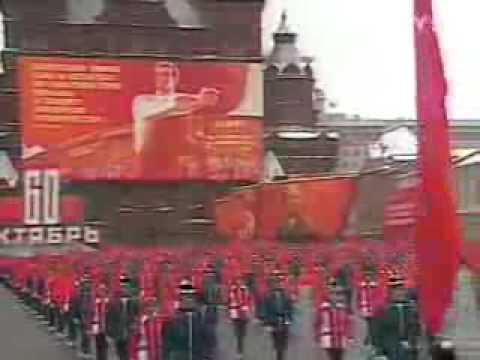 1977 October Revolution Parade
