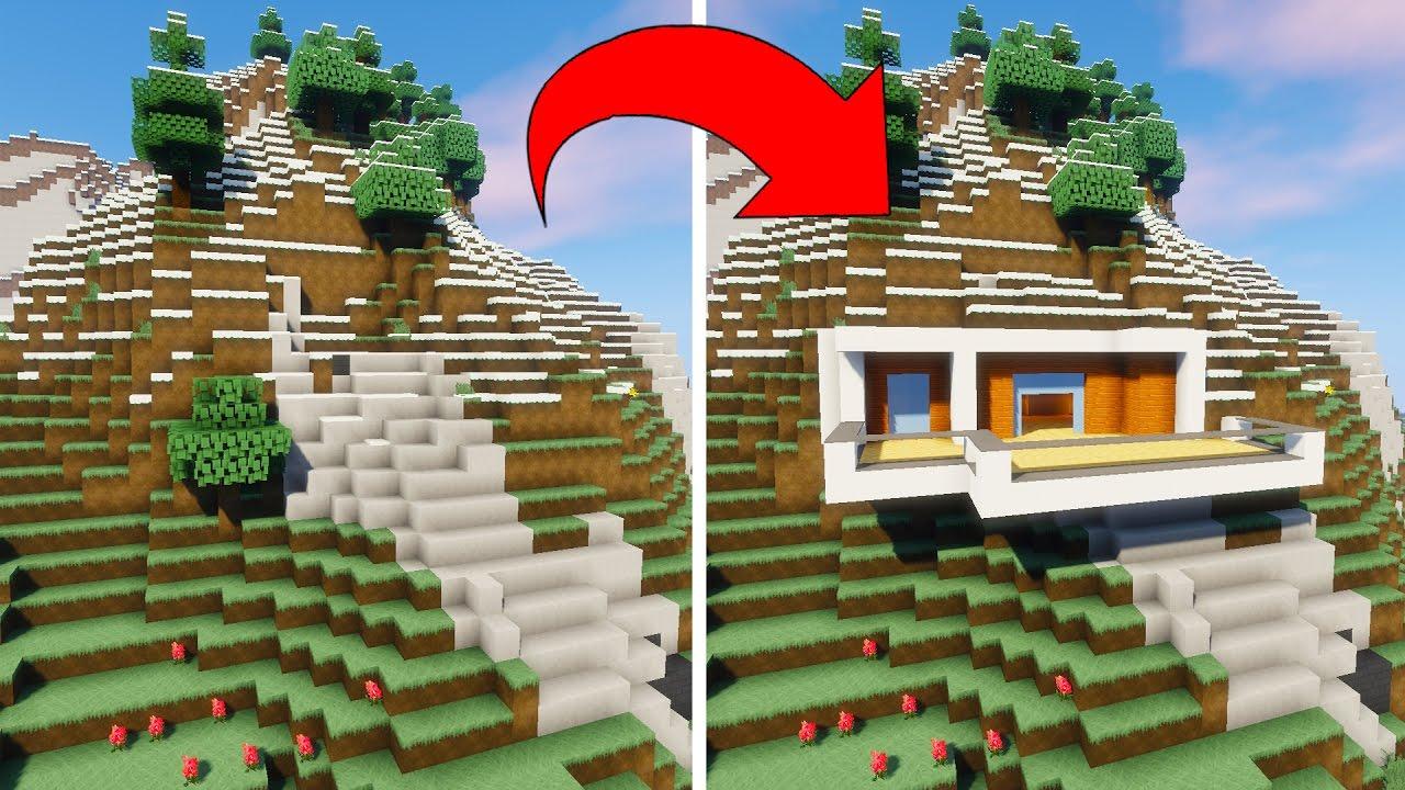 comment transformer cette montagne en maison moderne youtube. Black Bedroom Furniture Sets. Home Design Ideas