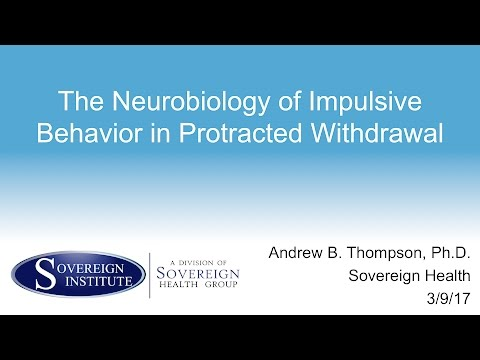The Neurobiology of Impulsive Behavior in Protracted Withdrawal-Andrew B. Thompson