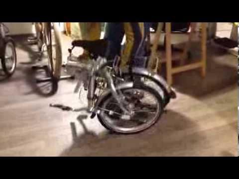 Bicicletta Pieghevole Beixo.Beixo Compact Bicicletta Pieghevole Dimostrazione Sistemi Di Chiusura Di Sicurezza