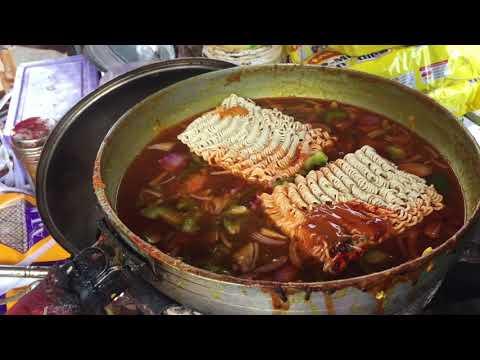 Maggi | Schezwan Mayonnaise Cheese Maggi | Indian Street Food
