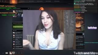 Сексуальные моменты стримерш :)