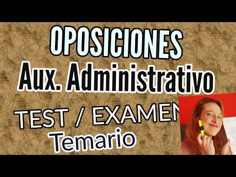 oposiciones-auxiliar-administrativo-de-sanidad-/cómo-funciona-el-examen-y-cómo-repartirse-el-temario