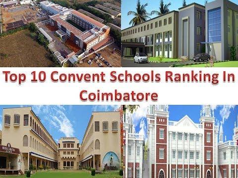 Top 10 Convent Schools Ranking In Coimbatore