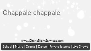 FREE KARAOKE - Chappale Chappale - Kannada Patriotic Song -