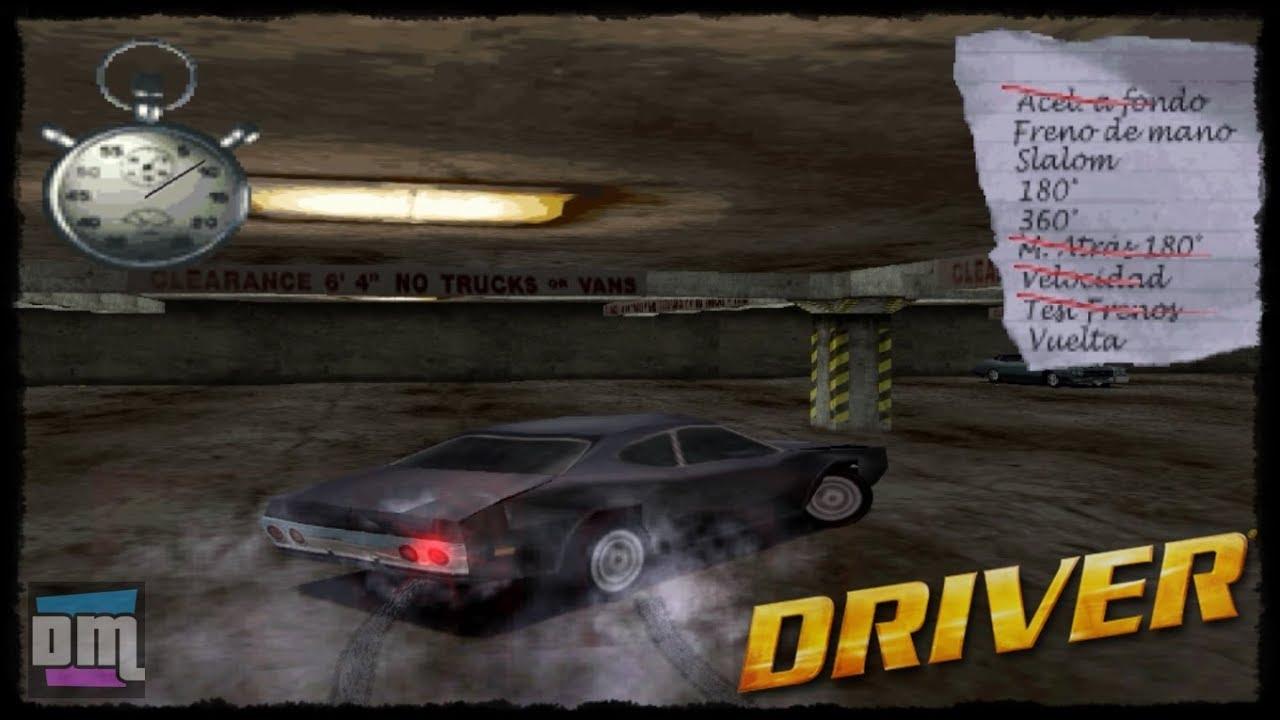 Driver 1 | Español | PS1 / PSX / PSone | Intro + Misión 1: Aparcamiento