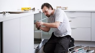 Get your dream kitchen at http://www.ikea.com This short step-by-step video shows you how to install your IKEA kitchen. You