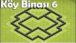 Clash of Clans kb 6 koy düzeni ganimet ve kupa