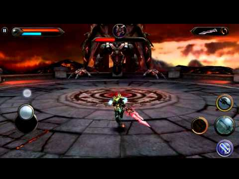 Wild Blood (Android) - defeating Morgana (final boss)