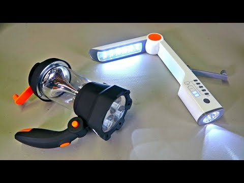 Download Youtube: 8 Survival Hand Crank Flashlights