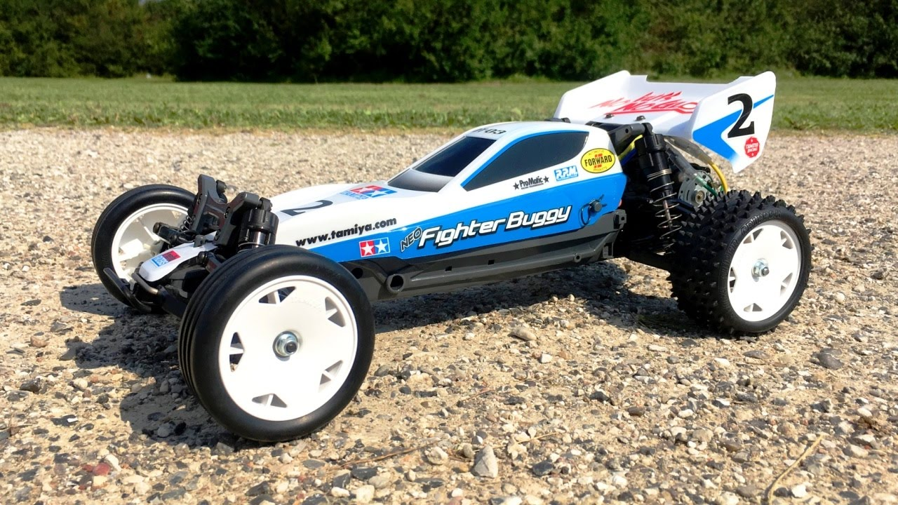 BUiLDiNG the Tamiya DT-03 Neo Fighter Buggy Assembly Kit #58587 (Part 3):  Final Result & First Run!