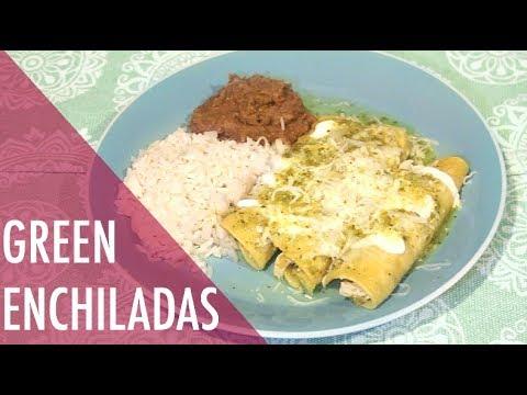 Chicken Enchiladas Recipe With Green Sauce Authentic Enchiladas
