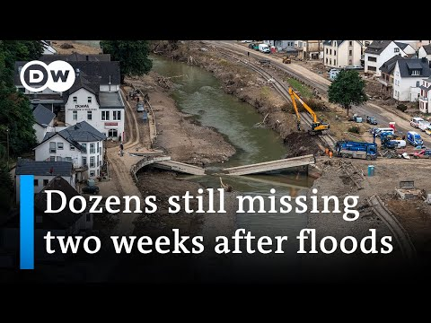 Dozens Still Missing In Germany Two Weeks After Floods | DW News