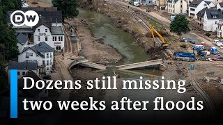Dozens still missing in Germany two weeks after floods