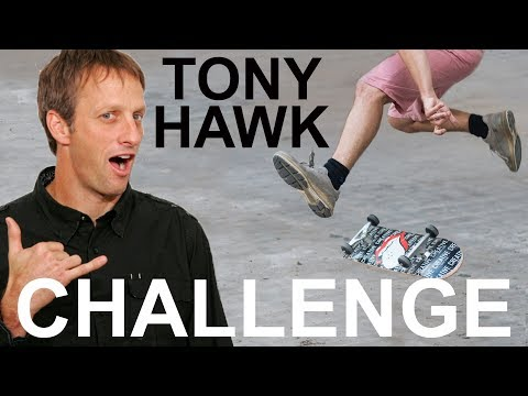 Tony Hawk said he'd send me a signed skateboard if I learned to heelflip