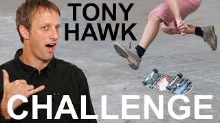 TONY HAWK CHALLENGES ME: LEARN TO HEELFLIP FOR CHARITY thumbnail