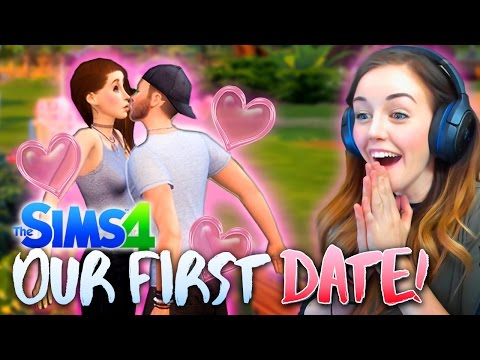 OUR FIRST DATE! 💕 (The Sims 4 #3! 🏡)