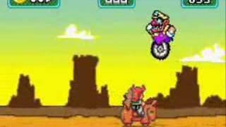 Wario Land 4-Mini games mode