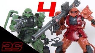 Video HG The Origin Zaku II Type C/C-5 Review | 12 Days of Gunpla (Minus One) download MP3, 3GP, MP4, WEBM, AVI, FLV Desember 2017