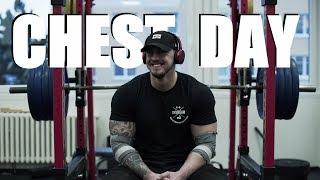 CHEST DAY | Těžký váhy | 200kg bradla!