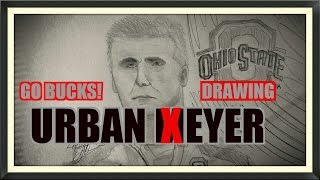 URBAN MEYER- How to Draw- Ohio State Buckeyes