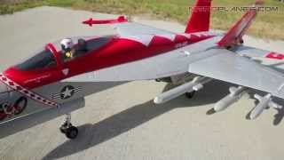 Exceed RC 2.4Ghz 4 Channel Red Viper F18 EDF Jet Preview