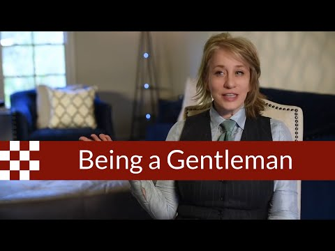 Being a Gentleman - a Woman's Perspective