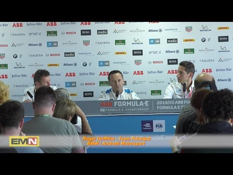 Roger Griffiths, conferenza stampa dei team principal – Electric Motor News n° 32 (2019)