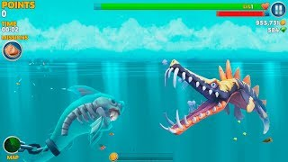 Hungry Shark Evolution Ghost Shark Android Gameplay #8