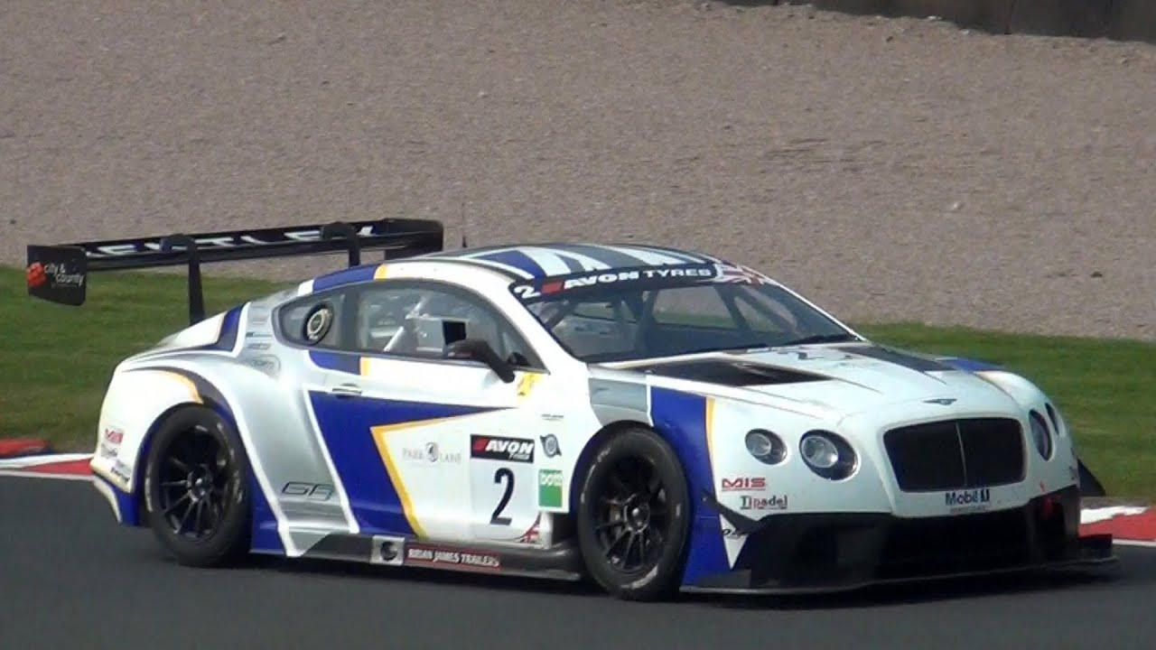 Bentley Continental GT3 Sound Flatout on Track - YouTube
