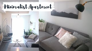 My Minimalist Apartment Tour 2019 | Bahasa Indonesia (English sub)