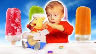 Челлендж Лопни Поросёнка Супер Игра Для Детей Семьи Макс Играет НО ВЫИГРАЛ ЛИ ОН?  Family Challenge