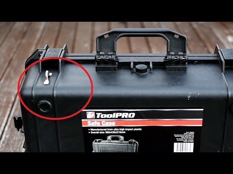 pelican case modifications / Use them as a motorcycle panniers / cheap and  best
